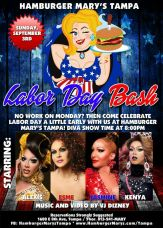 Show Ad | Hamburger Mary's (Tampa, Florida) | 9/3/2017