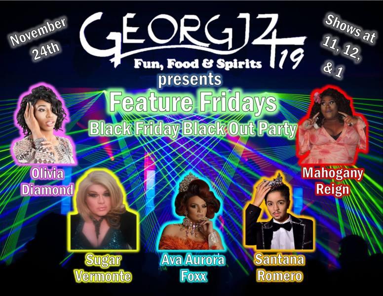 Show Ad   Georgjz419 Fun Food & Spirits (Toledo, Ohio)   11/24/2017