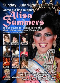Show Ad | G Bar (Ybor City, Florida) | 7/18/2010