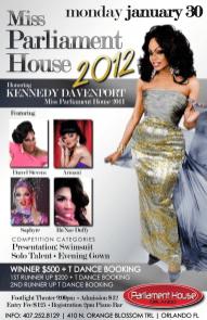 Show Ad   MIss Parliament House   Parliament House (Orlando, Florida)   1/30/2012