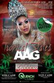 Show Ad | Tropical States All American Goddess | Quench Lounge (Tampa, Florida) | 10/16/2016