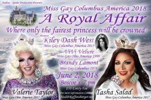 Show Ad   Miss Gay Columbus America   Boscoe's (Columbus, Ohio)   6/2/2018