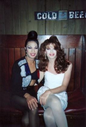 Leslie Rage and Nicole James. Club Zippers.