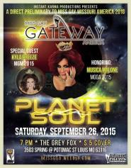 Show Ad | Miss Gay Gateway America | The Grey Fox (St. Louis, Missouri) | 9/26/2015