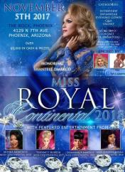 Show Ad | Miss Royal Continental | The Rock (Phoenix, Arizona) | 11/5/2017