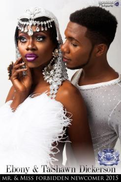 Ebony and Ta'Shawn Dickerson - Photo by Dior Payne Photography