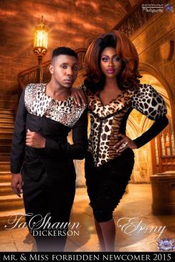 Ta'Shawn Dickerson and Ebony - Photo by Dior Payne Photography