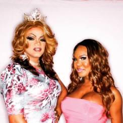 Kiley Dash-West and Bianca Debonair