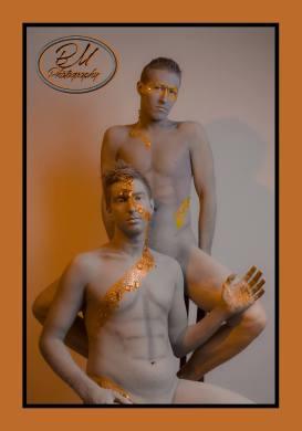 Models: Tyler Devereaux and Dane Decardeza   MUA: Carl William Graf and Derek Douglas   Photo by Bryce McCaughey
