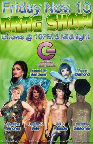Show Ad   Garden Nightclub (Des Moines, Iowa)   11/10/2017
