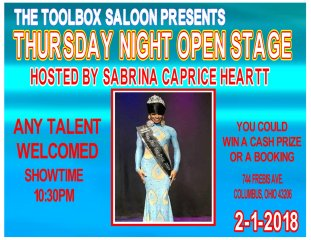 Show Ad | Toolbox Saloon (Columbus, Ohio) | 2/1/2018