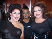 Virginia West, Anisa Love and Nina West