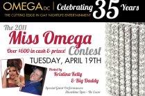 Show Ad | Miss Omega | Omega Night Club - Washington, D.C. | 4/19/2011