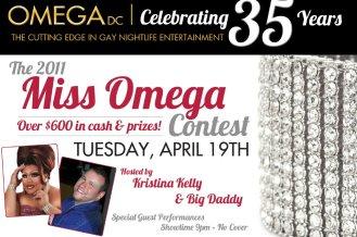 Show Ad   Miss Omega   Omega Night Club - Washington, D.C.   4/19/2011