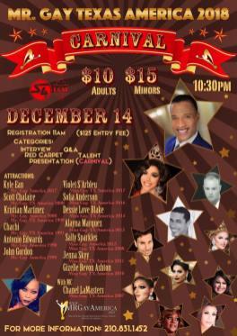 Show Ad | Mr. Gay Texas America | Rose Room (Dallas, Texas) | 12/14/2017