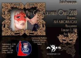 Show Ad | Miss Gay Columbus Ohio | Axis Night Club (Columbus, Ohio) | 2/3/2018