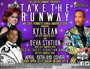 Show Ad   Mr. Gay Pennsylvania America   Stallions Entertainment Complex (Harrisburg, Pennsylvania)   4/13/2018