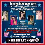 Show Ad | Miss Great Lakes All-Star and Miss Great Lakes All-Star Newcomer | Interbelt Nite Club (Akron, Ohio) | 2/25/2018