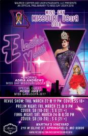 Show Ad | Miss Gay Missouri USofA | Martha's Vineyard (Springfield, Missouri) | 3/22-3/24/2018