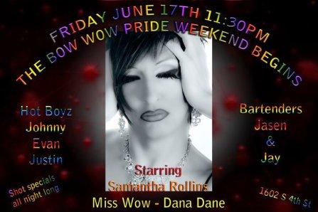 Show Ad   The Bow Wow (Columbus, Ohio)   6/17/2011