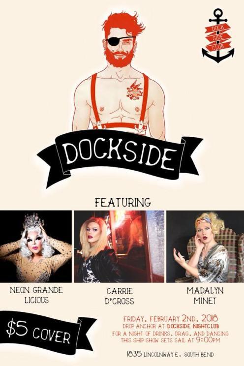 Show Ad | Dockside Nightclub (South Bend, Indiana) | 2/2/2018