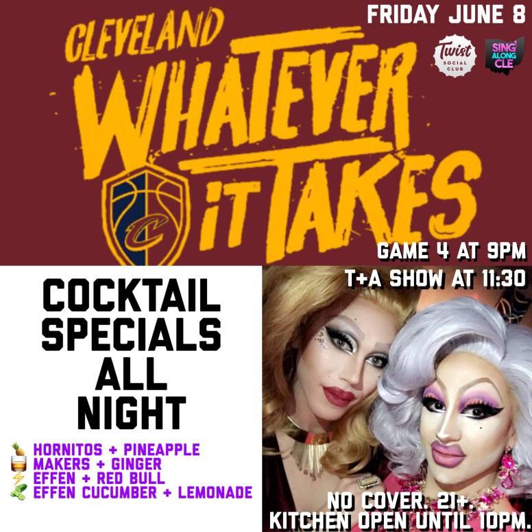 Show Ad | Twist Social Club (Cleveland, Ohio) | 6/8/2018