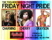 Show Ad   Toolbox Saloon (Columbus, Ohio)   6/15/2018