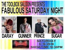 Show Ad | Toolbox Saloon (Columbus, Ohio) | 6/16/2018