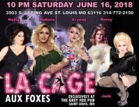 Show Ad | Grey Fox Pub (St. Louis, Missouri) | 6/16/2018