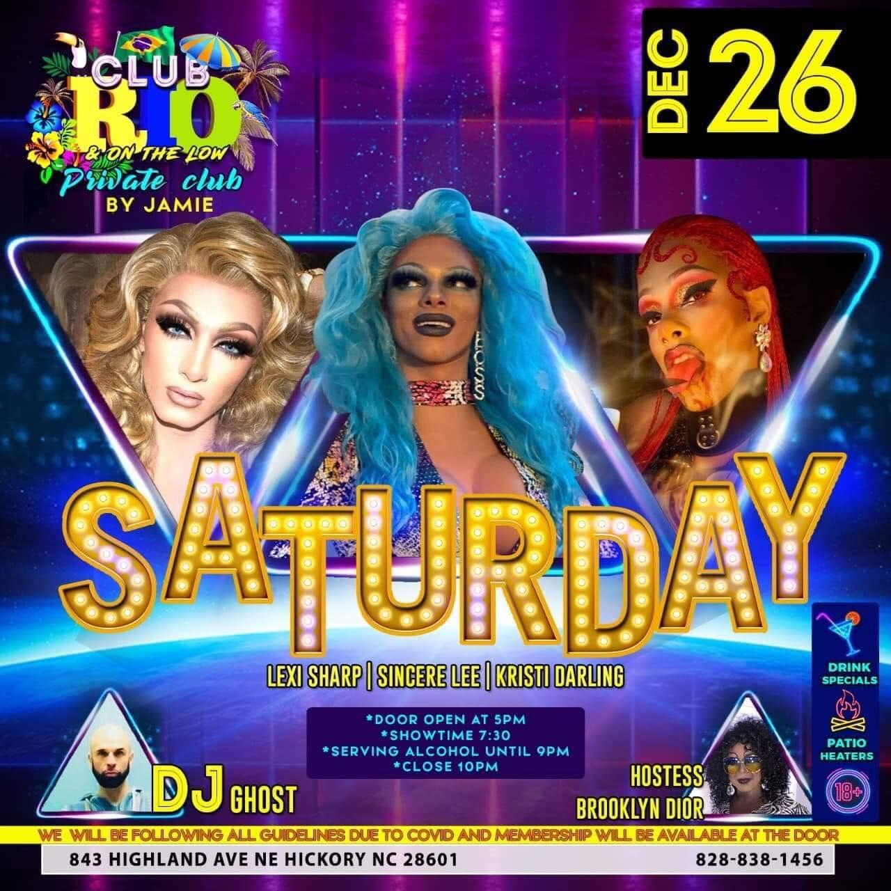 Ad | Club Rio & On the Low (Hickory, North Carolina) | 12/26/2020