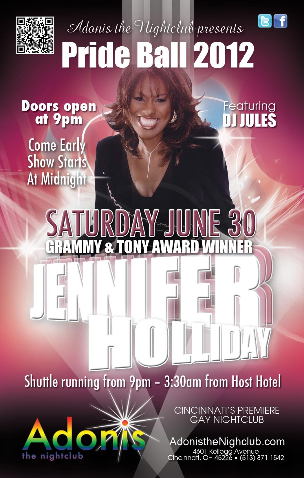 Ad   Adonis the Nightclub (Cincinnati, Ohio)   6/30/2012
