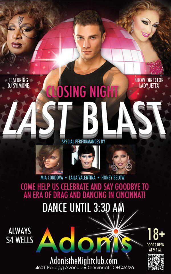 Ad   Adonis the Nightclub (Cincinnati, Ohio)   12/1/2012