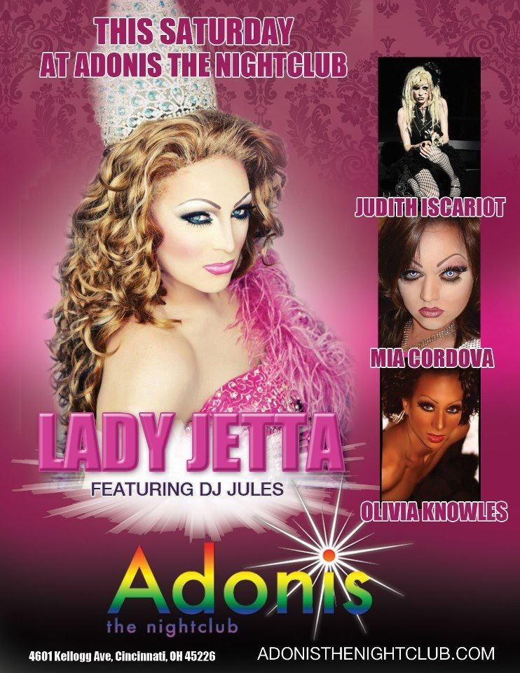 Ad | Adonis the Nightclub (Cincinnati, Ohio) | 9/8/2012