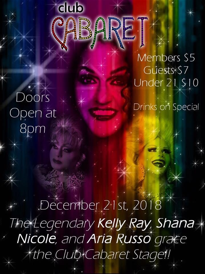 Ad | Club Cabaret (Hickory, North Carolina) | 12/21/2018