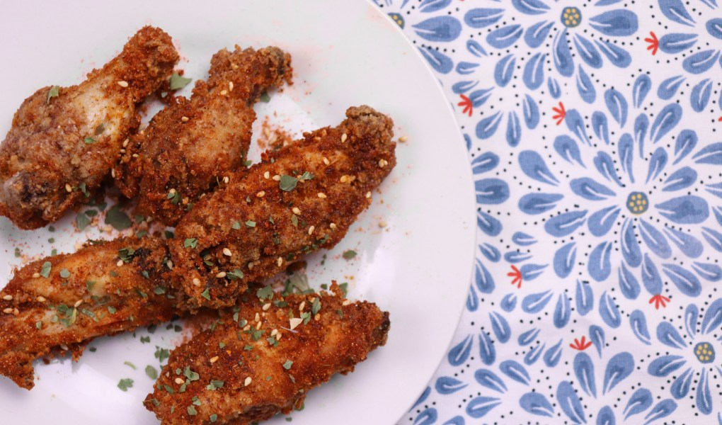 crispy asian wings