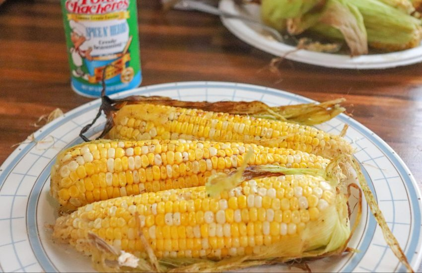 Marinated + Grilled Creole Corn