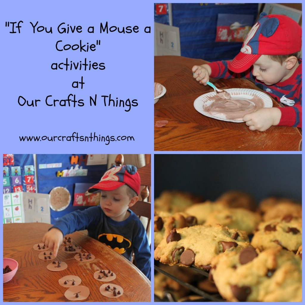 Our Crafts N Things Blog Archive If You Give A Mouse A Cookie