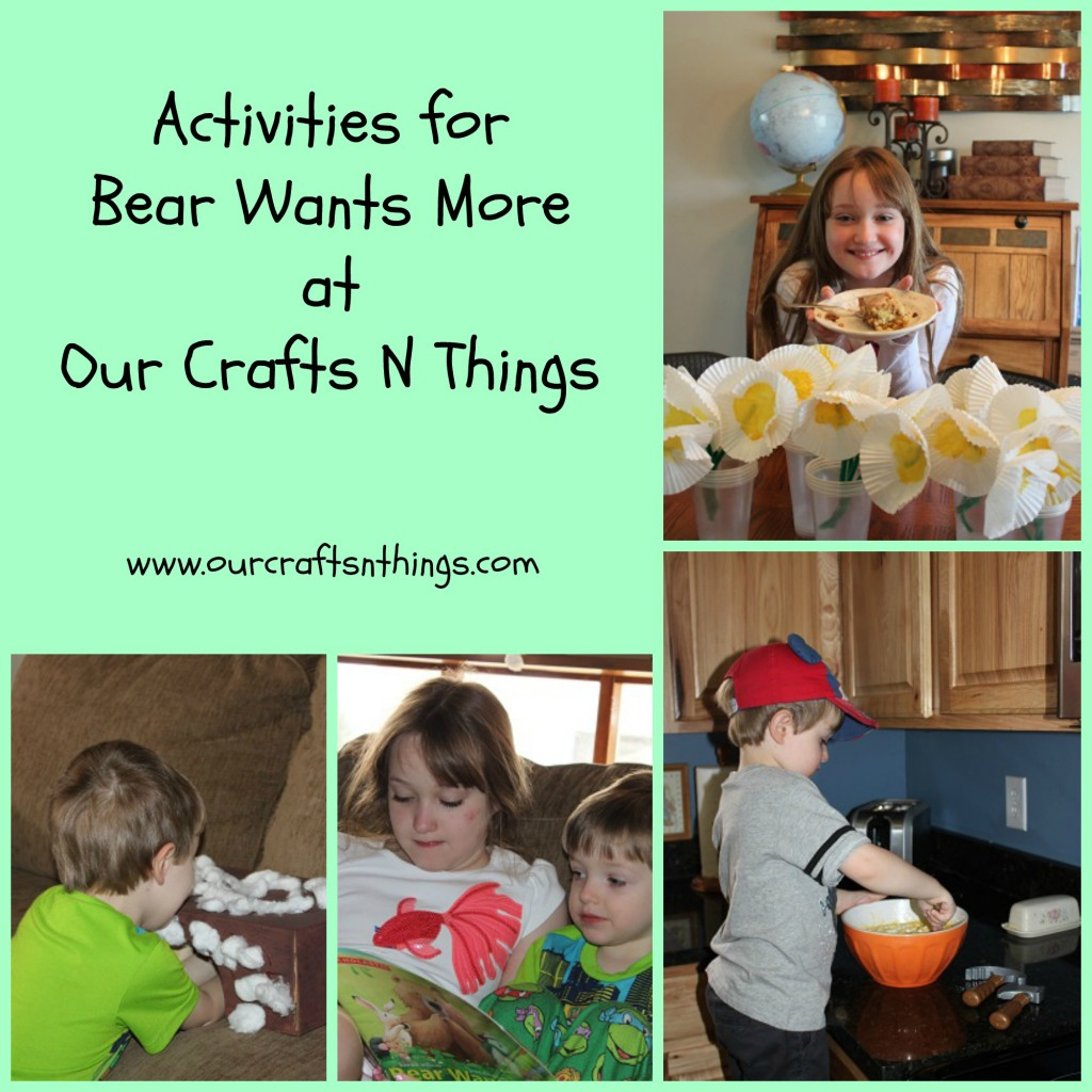 Our Crafts N Things Blog Archive Bear Wants More