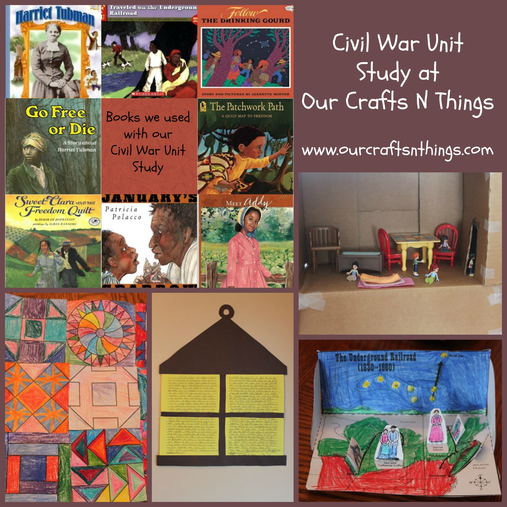 Our Crafts N Things Blog Archive Civil War Unit