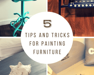 5 Easy Tips And Tricks For Painting Furniture Our Crafty Mom