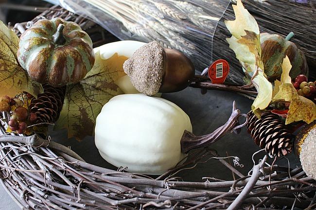 DIY Rustic Fall Grapevine Wreath Our Crafty Mom