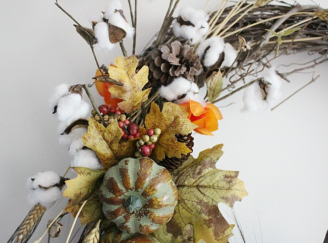 DIY Rustic Fall Grapevine Wreath Our Crafty Mom