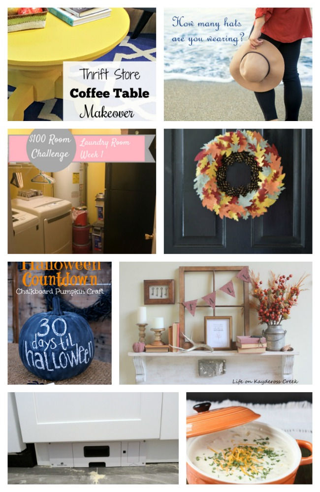 Come join the fun and link your blog posts at the Home Matters Linky Party 152. Find inspiration recipes, decor, crafts, organize -- Door Opens Friday EST