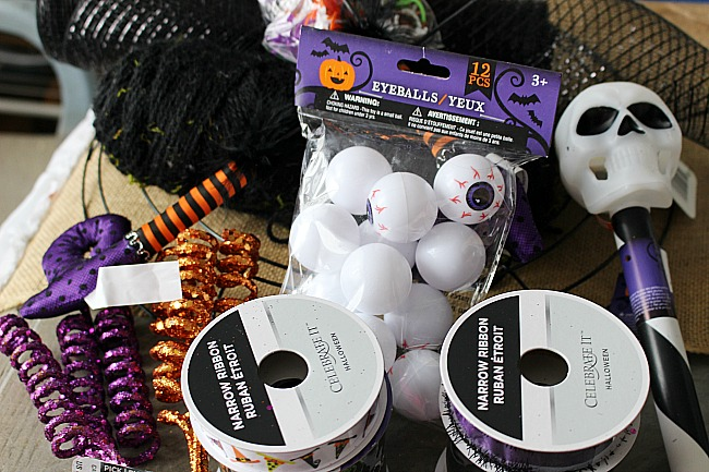 DIY Fun Halloween Witch Wreath Our Crafty Mom
