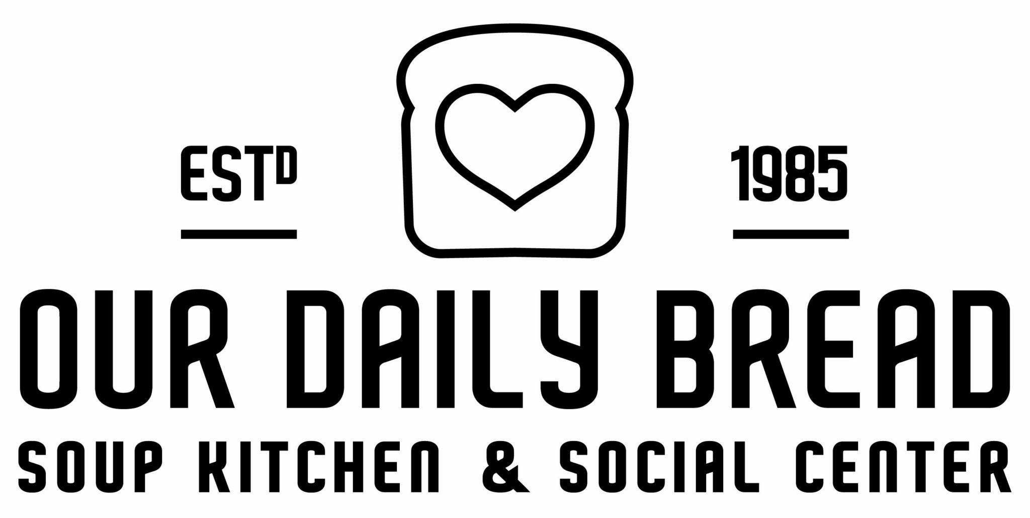 Logo Bw No Tagline 01 01 Our Daily Bread Soup Kitchen And