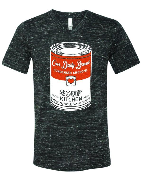 Soup Can V Neck T Shirt