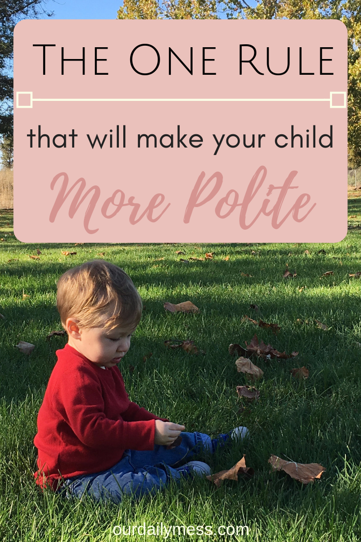 the one rule that will make your child more polite 2