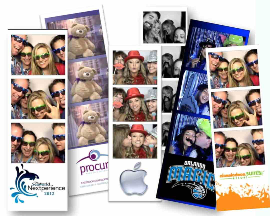photo booth rental print outs