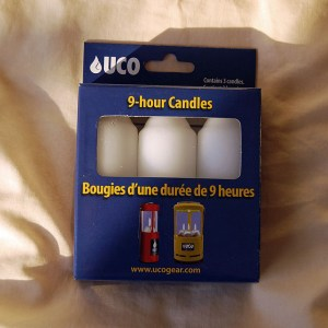 Candles - 3 Pack