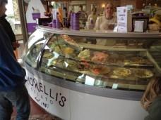 The new ice cream display